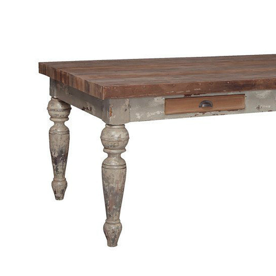 Reclaimed Farmhouse Dining Table, 72-Inch