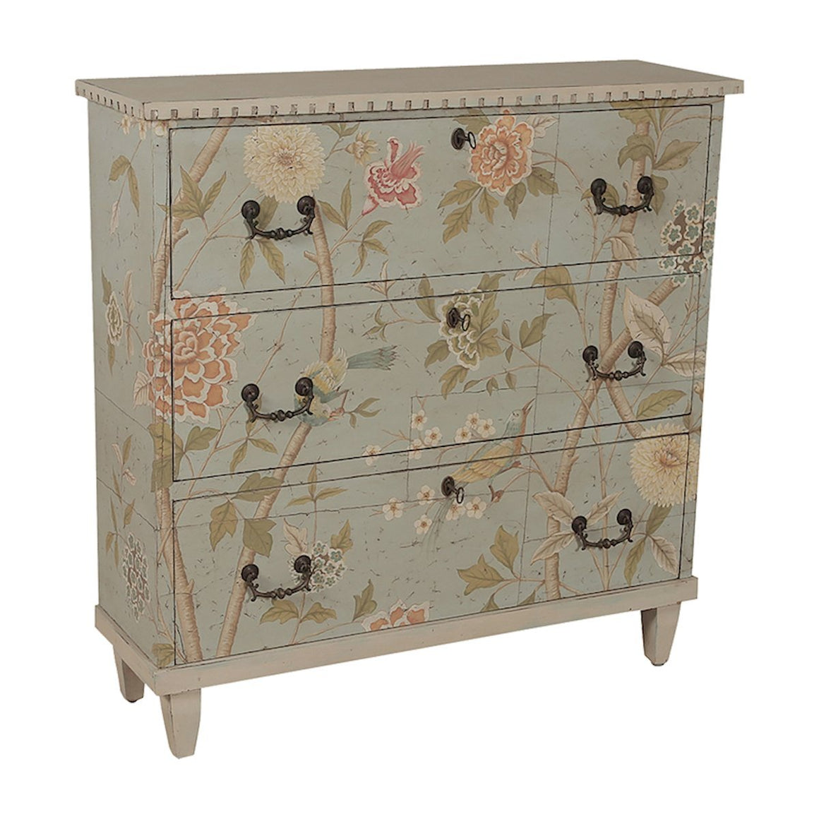 Floral Cottage Chest