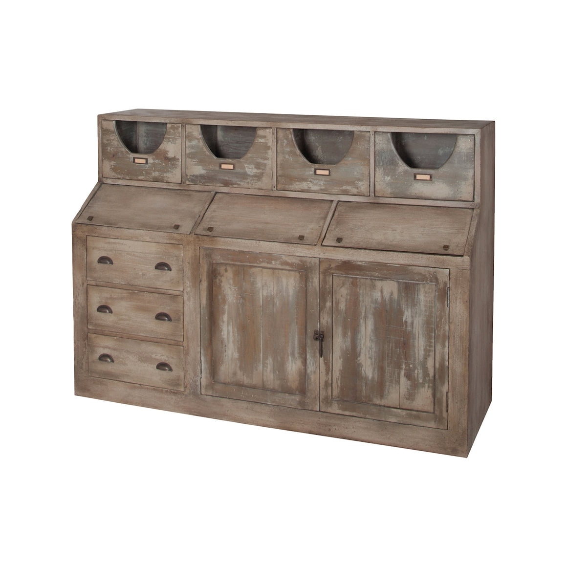 Cottage Kitchen Storage Cabinet