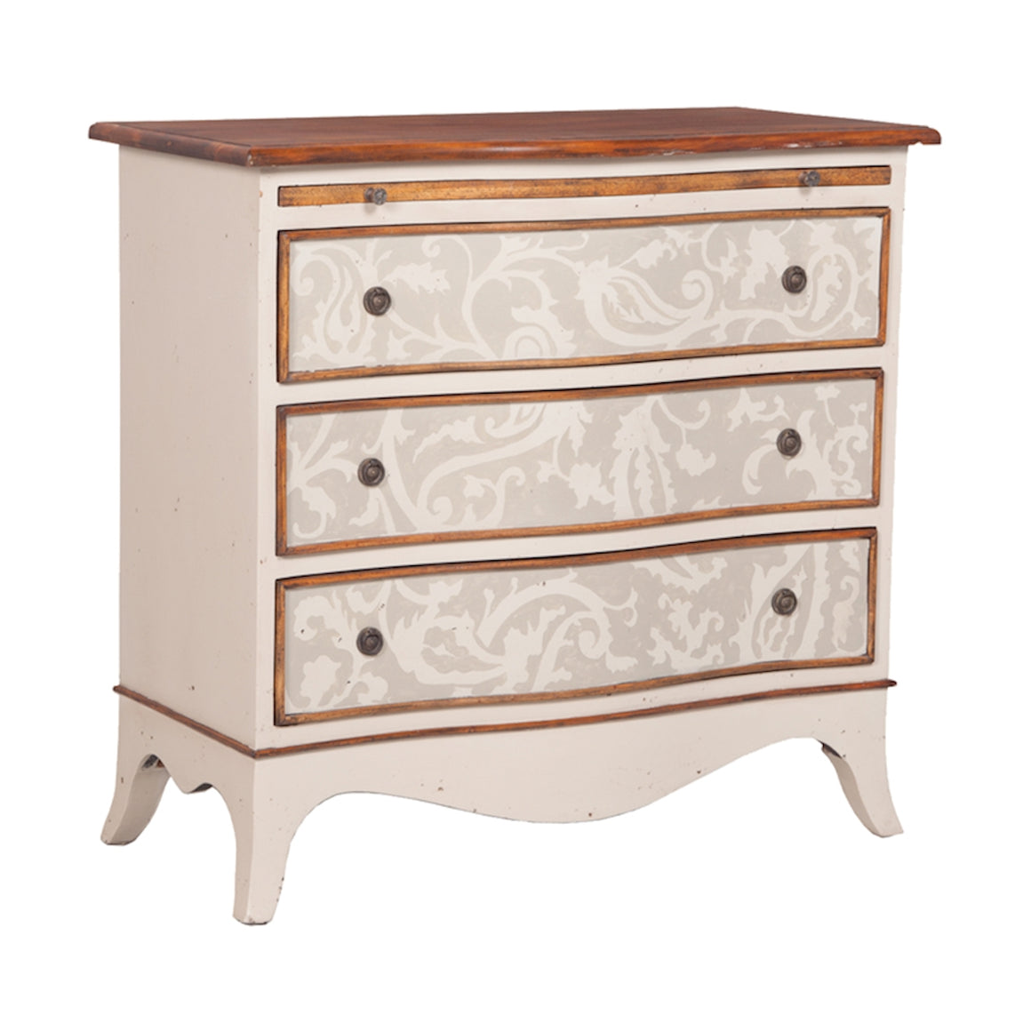 3-Drawer Acanthus Vine Chest