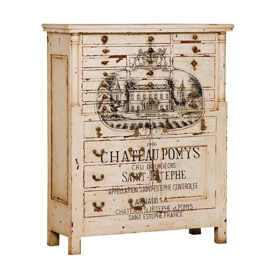 French Printers Chest