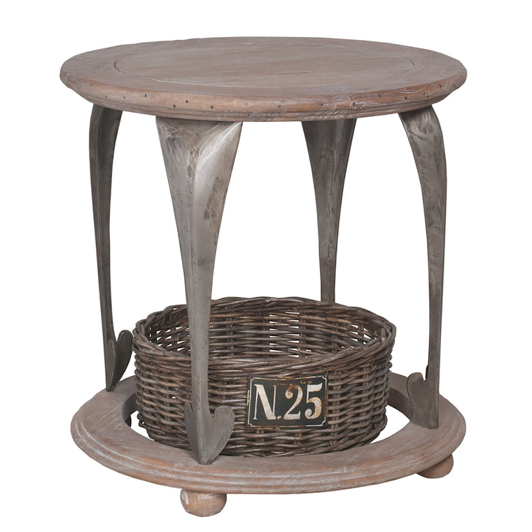 Gothic Artifacts Accent Table