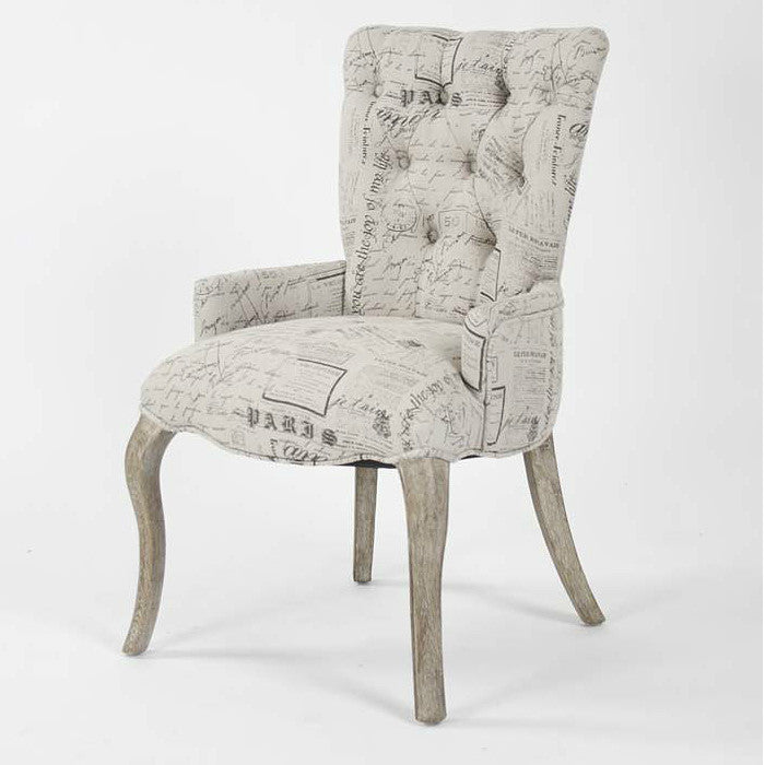 Iris Tufted Parisienne Chair