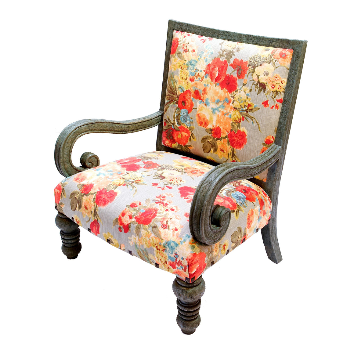 Grand Franciscan Occasional Armchair