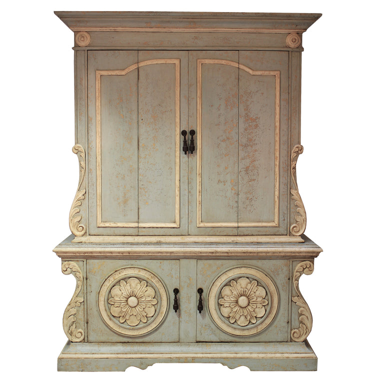 Solanas Armoire, French Blue