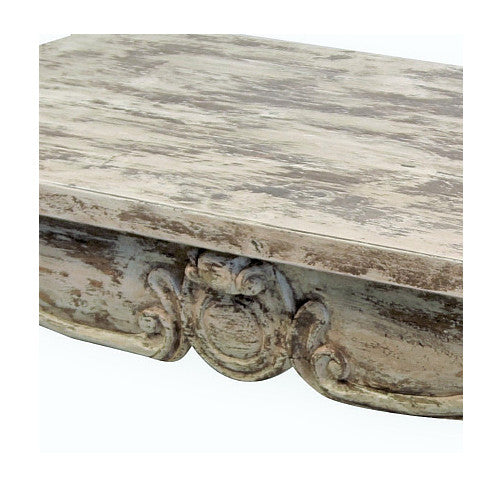 Tolouse Coffee Table, Antique White