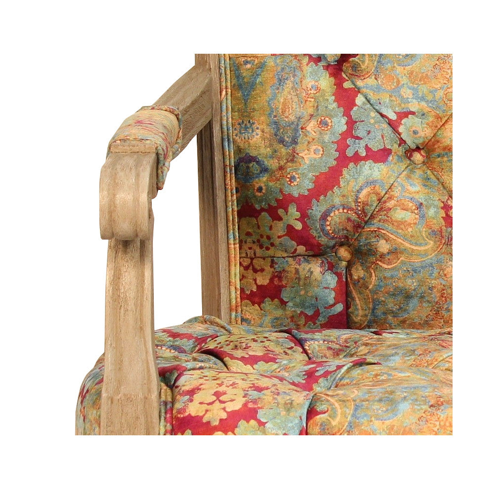 Selma Occasional Chair, Enchantress Mulberry