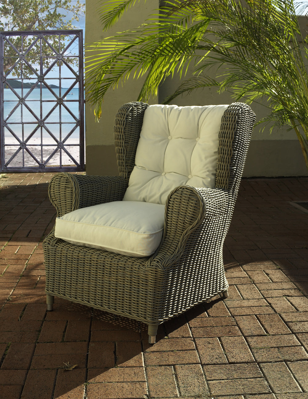 Outdoor Wing Chair ...