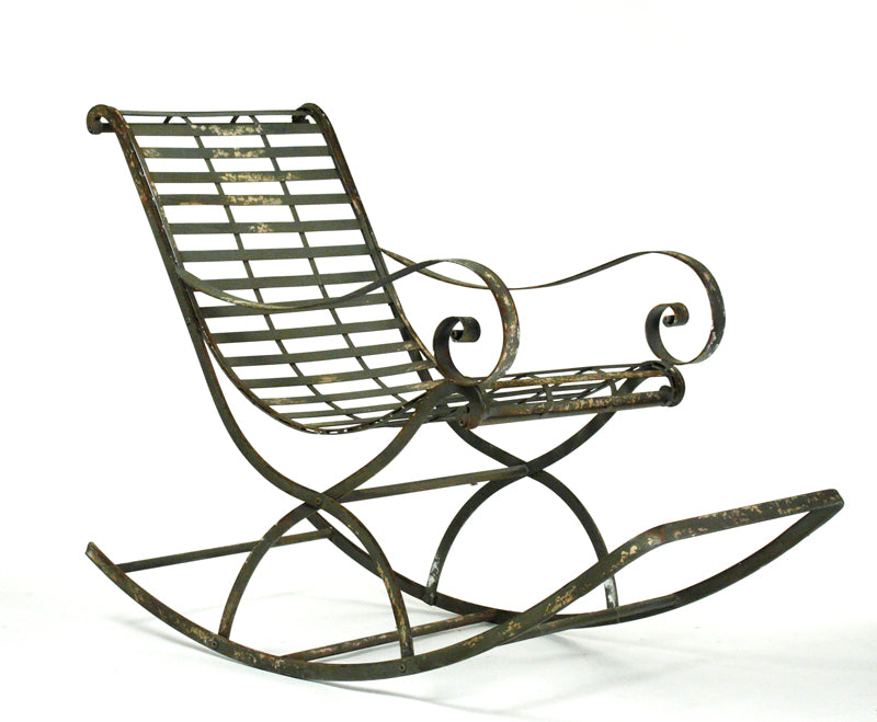 Iron Rocking Chair