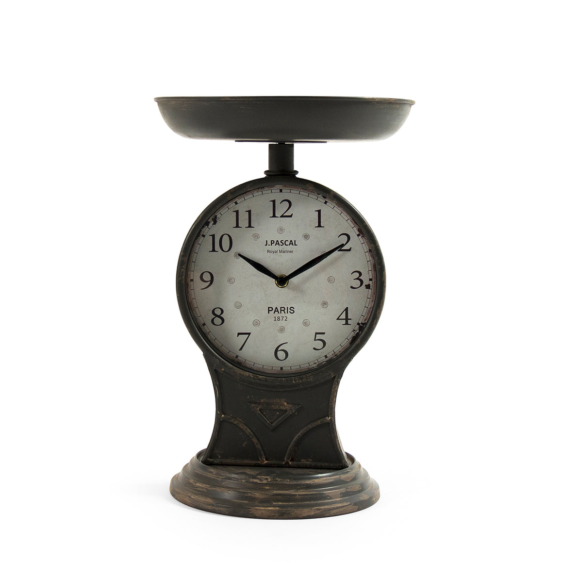 Iron Scale Clock