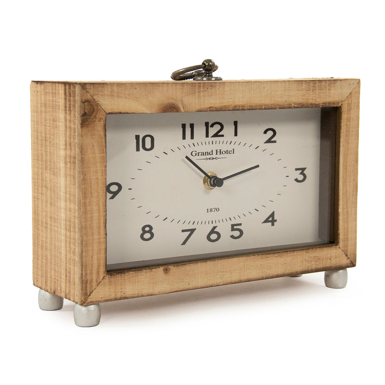 Wooden Box Clock
