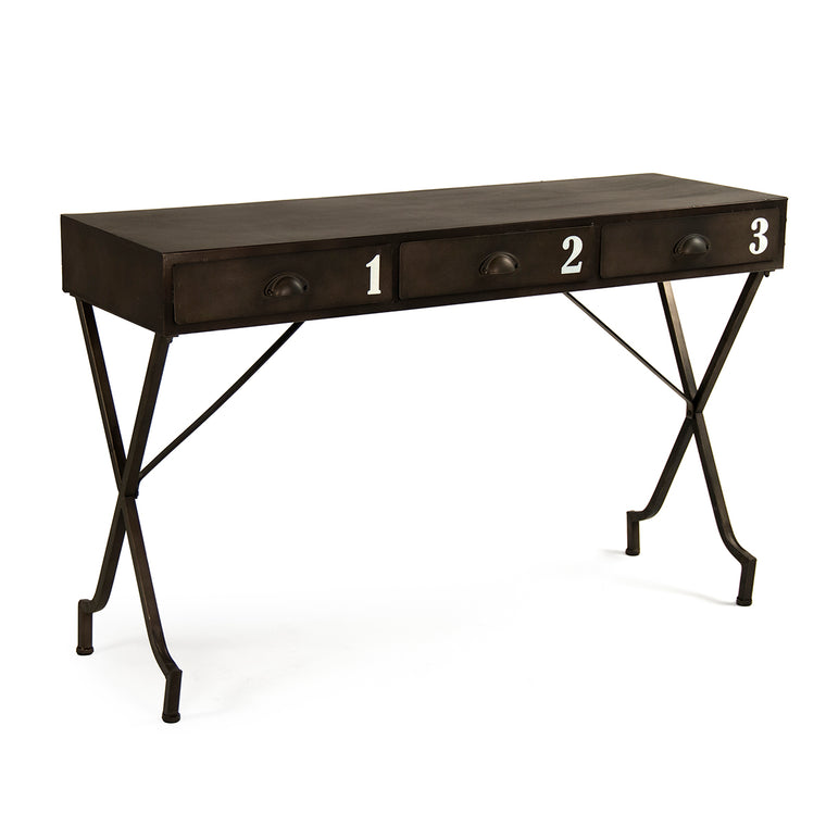 Tres Iron Wall Table