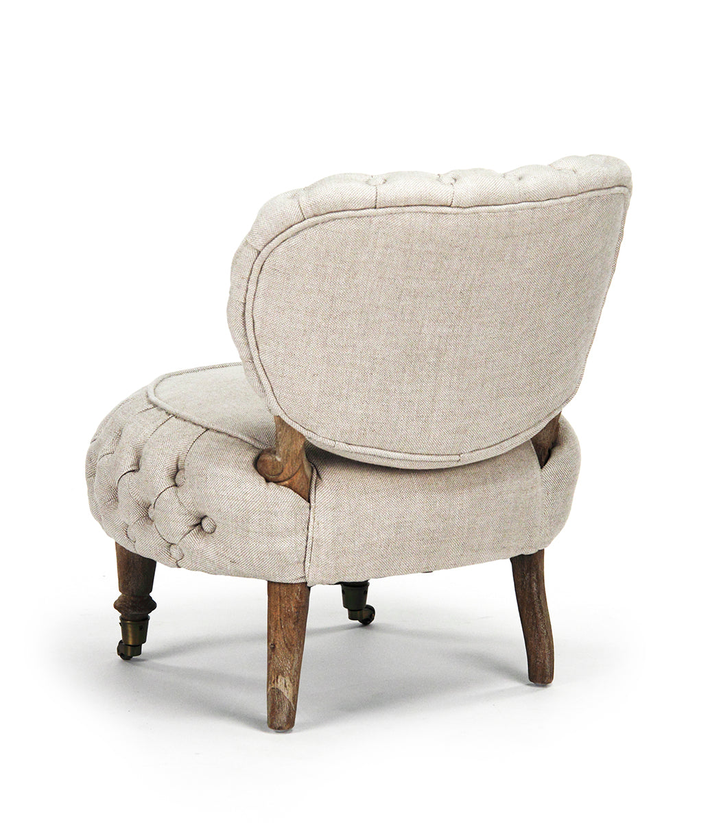 Excellent Zentique Sylvie Tufted Chair   TH048 E272 A015-A   Slipper Chairs  CR46