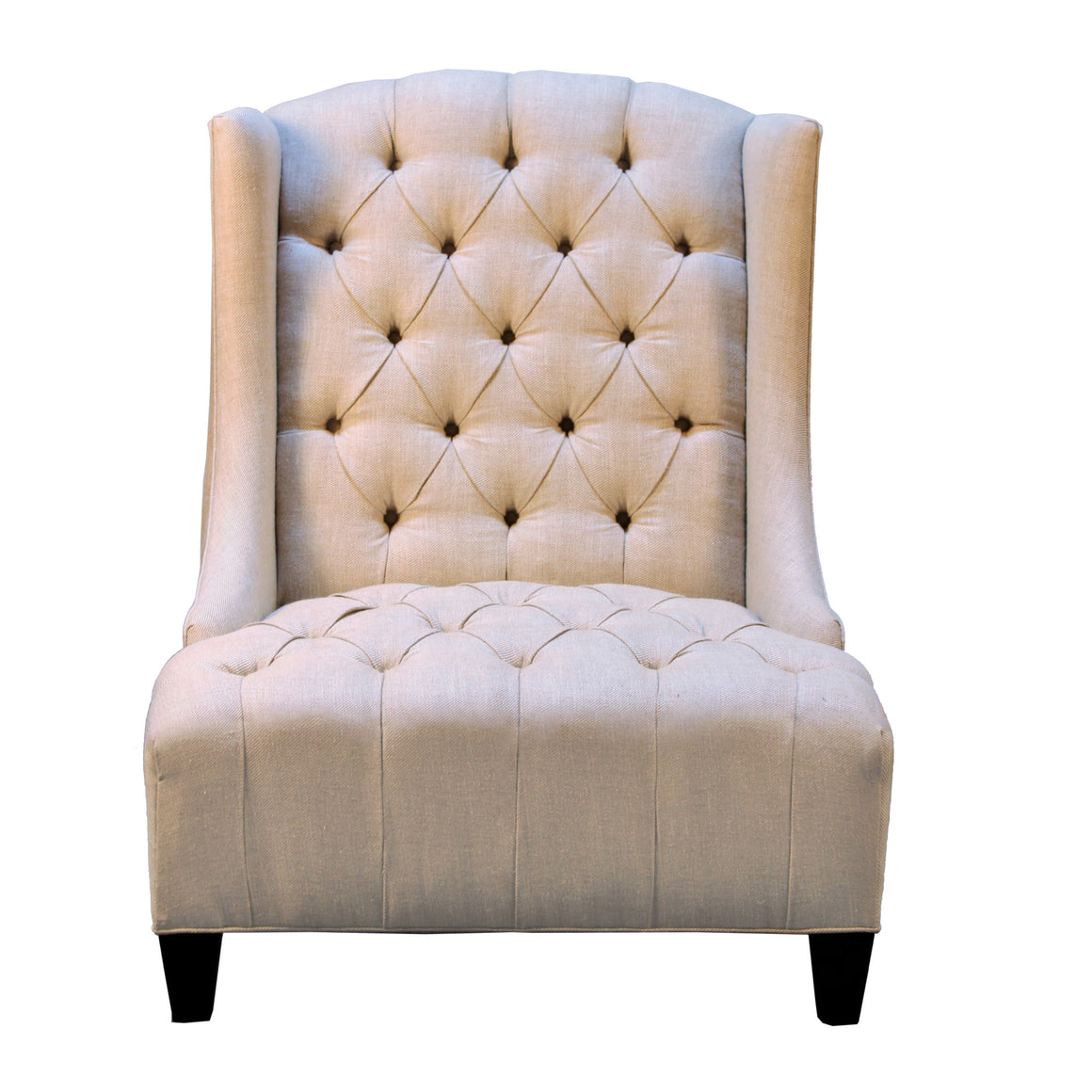 Rodin Oversized Wing Chair, Linen