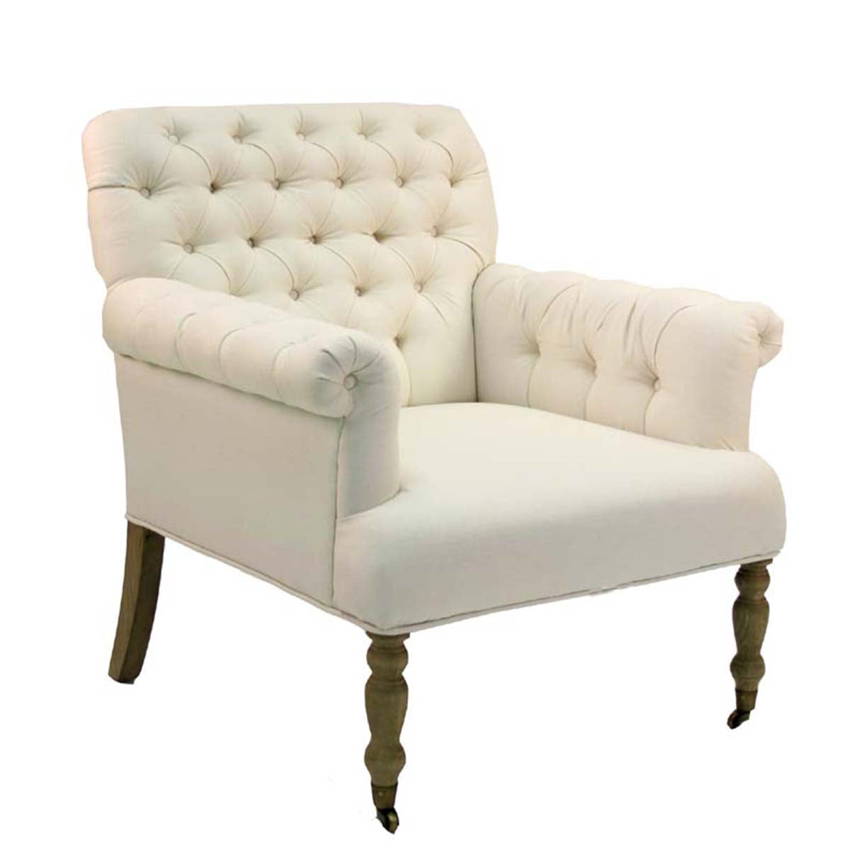 Lorraine Tufted Arm Chair ...