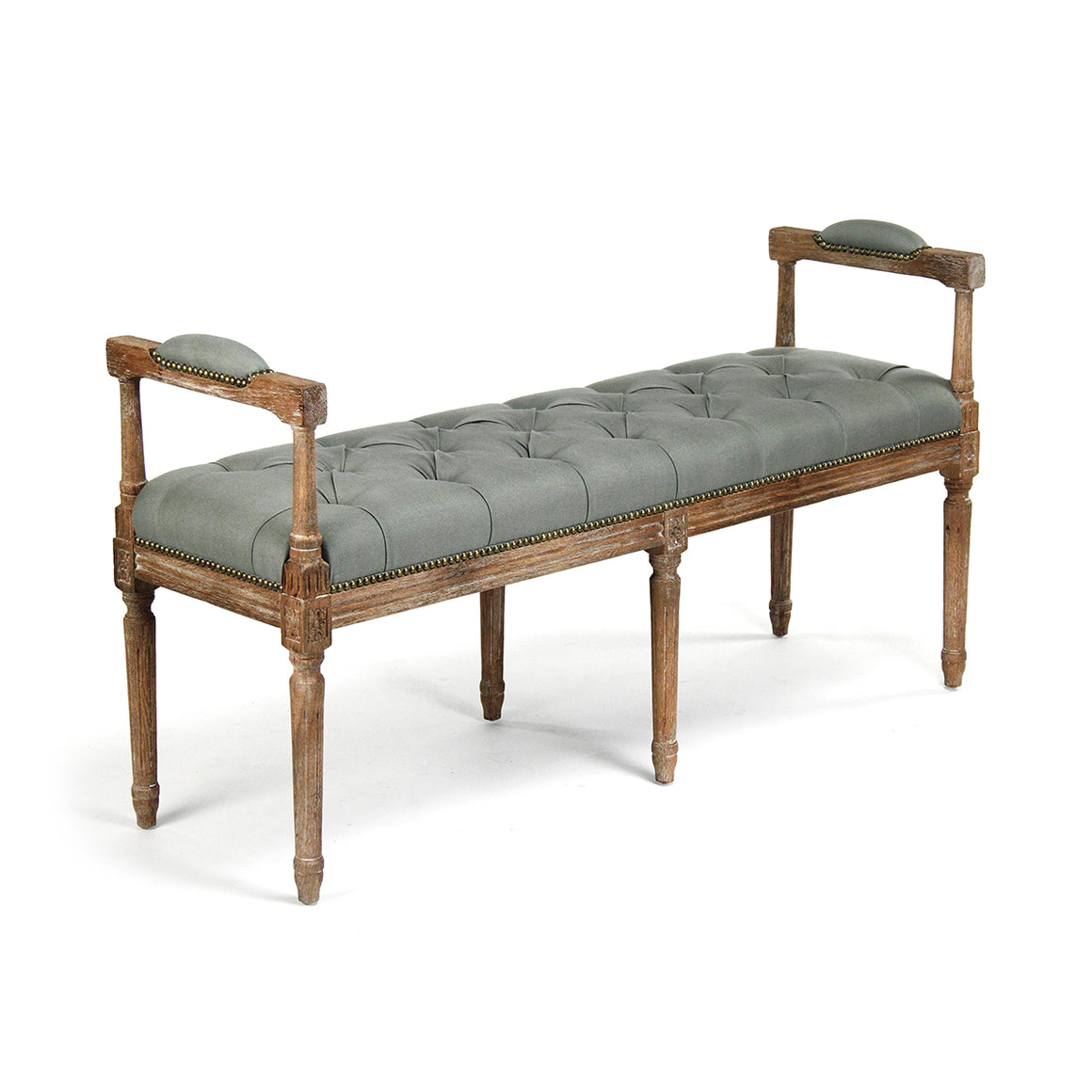 Nicolas Tufted Bench