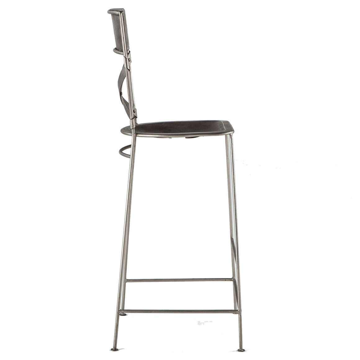 Artezia Antique Nickel Bar Stools