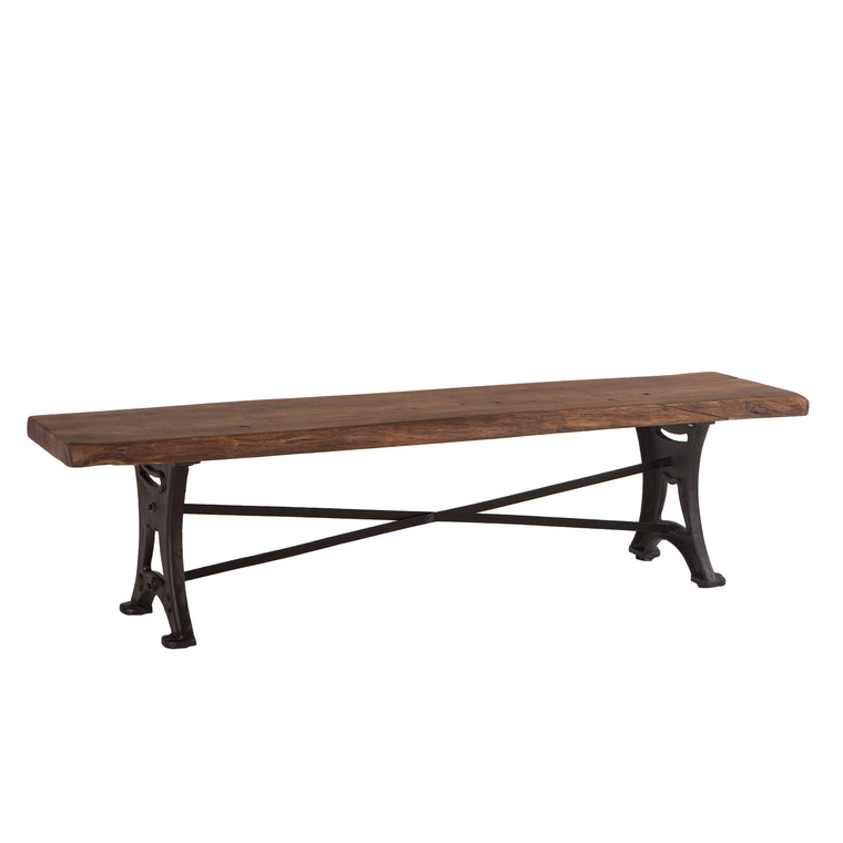 Blayne Live Edge Dining Bench
