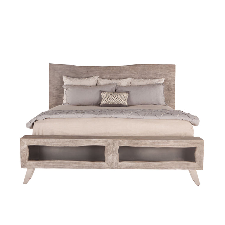 Nottingham Bed, Weathered Gray