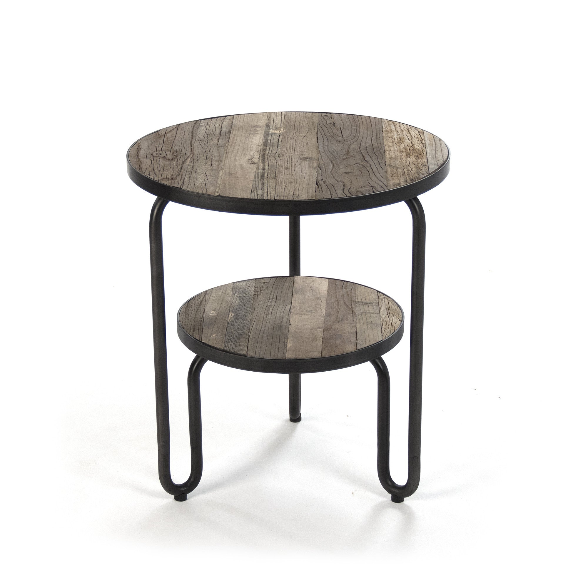 Admirable Alberta Round Side Table By Zentique Machost Co Dining Chair Design Ideas Machostcouk