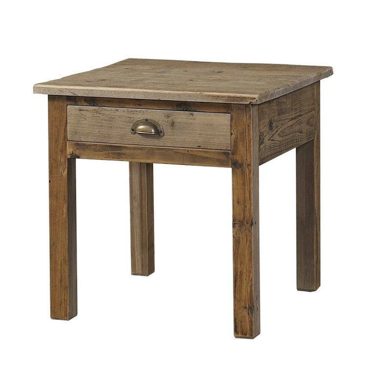 Accent Table - Salvaged Wood End Table