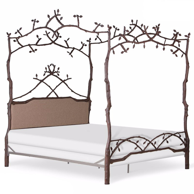 Bed - Upholstered Forest Dreams Canopy Bed