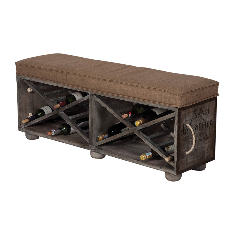 Bench - Wine Crate Bench