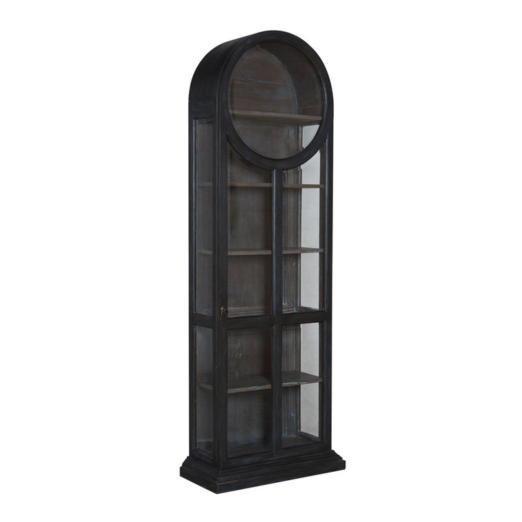 Cabinet - Round Top Display Cabinet