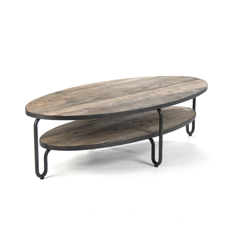 Coffee Table - Alberta Oval Coffee Table