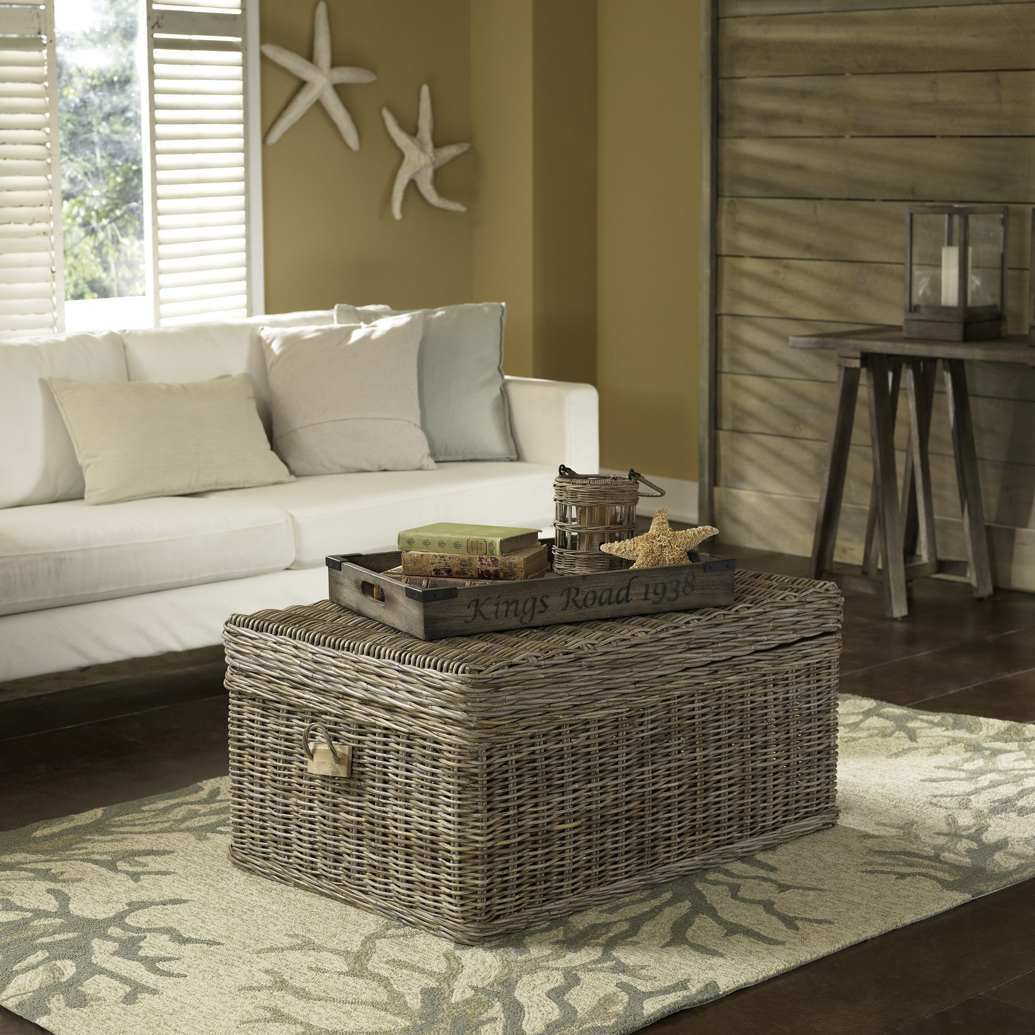Kubu Coffee Table Trunk Nook & Cottage