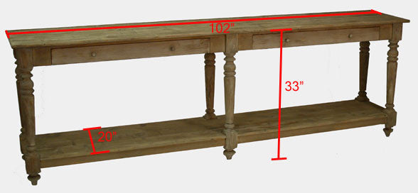 Console / Sofa Table - The Hague Console