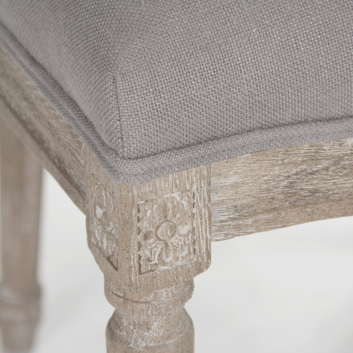 Dining Chair - Medallion Side Chair, Limed Oak