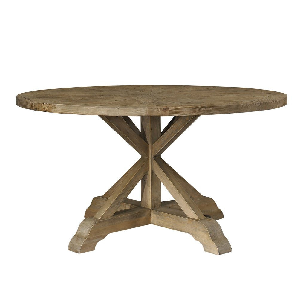 "Dining Table - Salvaged Wood 60"" Round Dining Table"