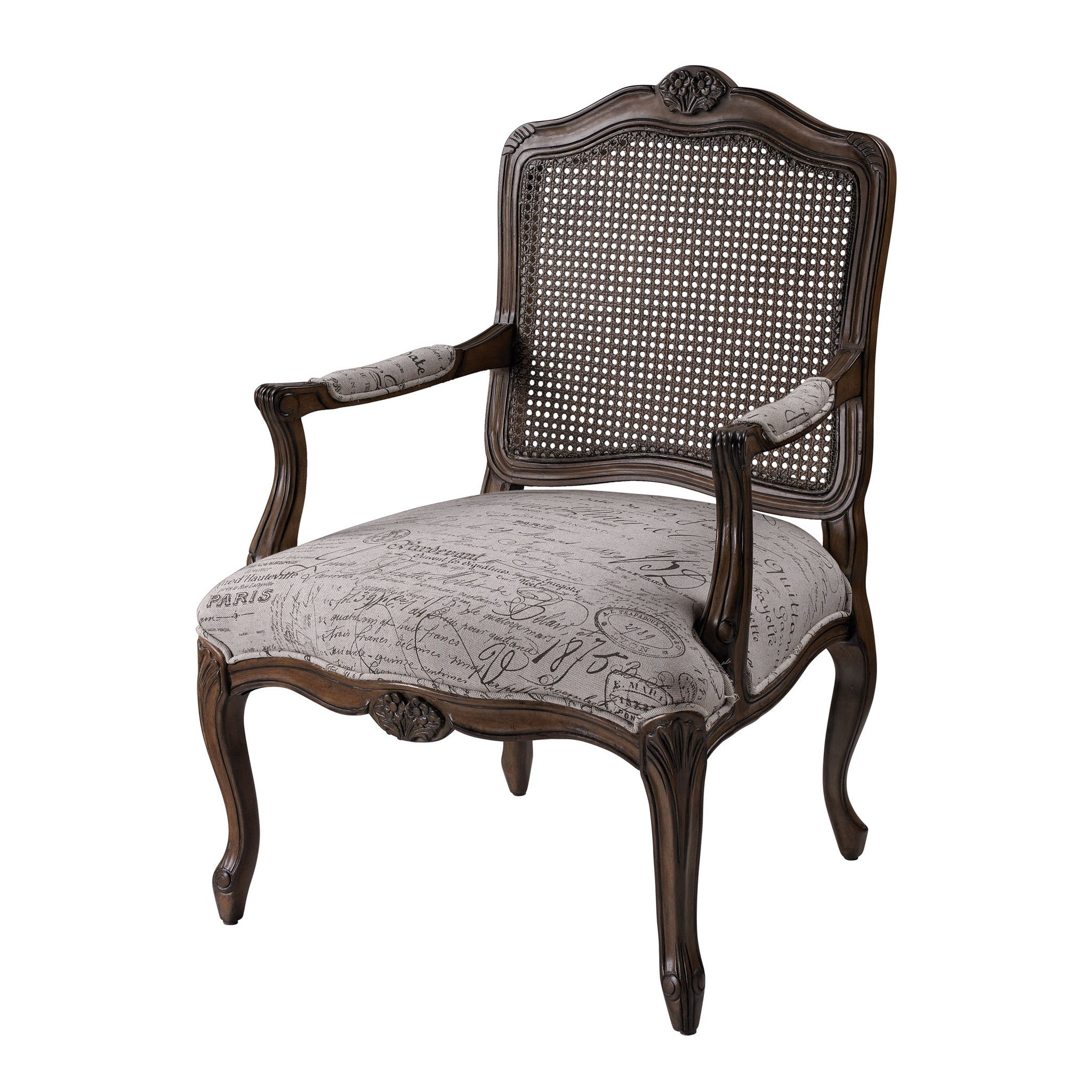 Marianne Arm Chair French Script