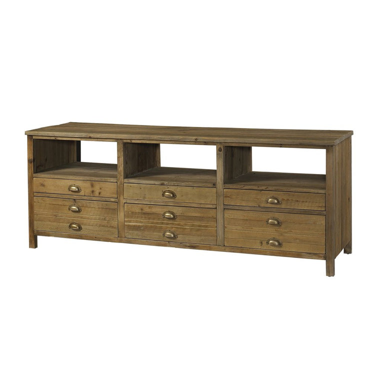 TV Console - Salvaged Wood TV Console
