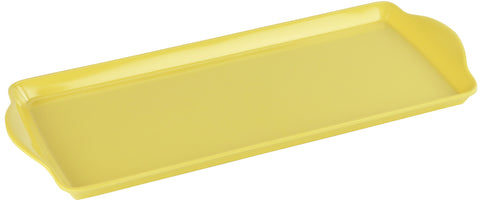 Tidbit Melamine Tray, Lemon