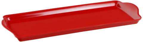 Tidbit Melamine Tray, Red