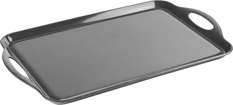 Rectangular Melamine Tray, Charcoal