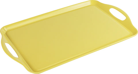 Rectangular Melamine Tray, Lemon