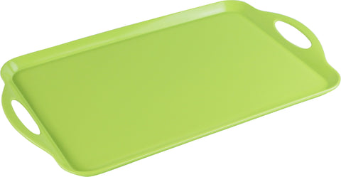 Rectangular Melamine Tray, Lime