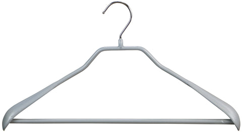 BodyForm, 42-LS, Pant Bar Hanger, Silver