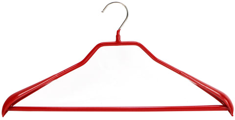 BodyForm, 46-LS, Pant Bar Hanger, Red