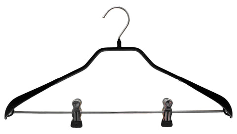 BodyForm, 42-LK, Pant Bar with Clips, Black
