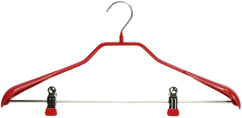 BodyForm, 42-LK, Pant Bar with Clips, Red