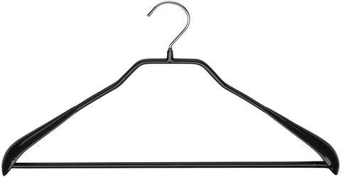 BodyForm, 42-LS, Pant Bar Hanger, Black