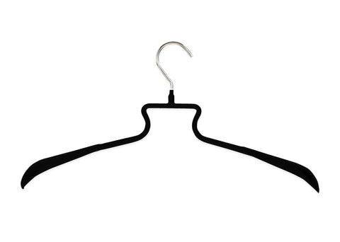 HE/SHE Series Clothing Hanger, Black