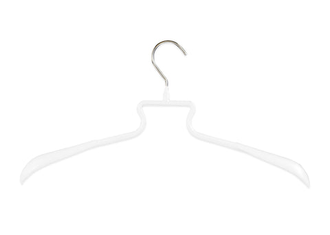 HE/SHE Series Clothing Hanger, White