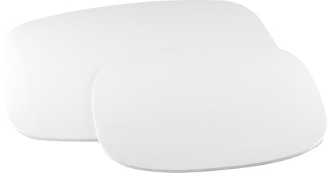 Set of 2, Counter Mat, White