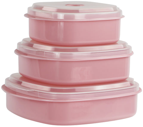 Microwave Cookware & Storage Set, PInk