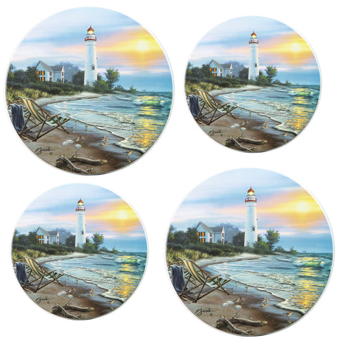 Tin Burner Cover Set, A Perfect Day